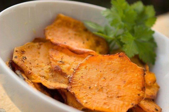 Chips di barbabietole