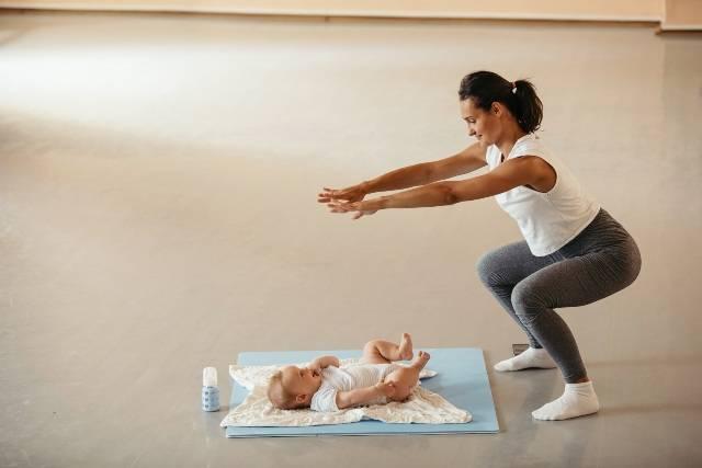 Workout per mamme e bimbi