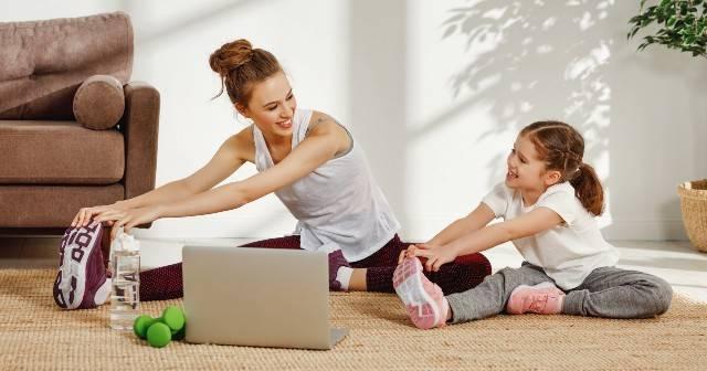 Workout per mamme con bimbi