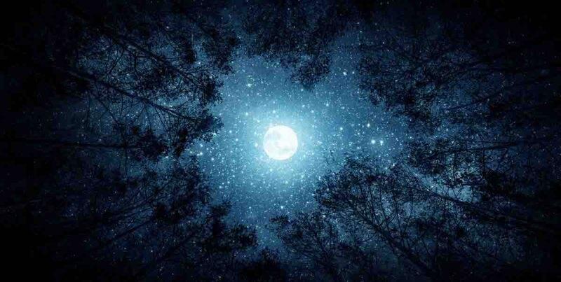luna blu simbolismo