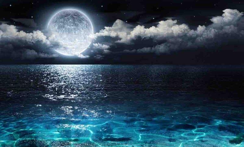 luna blu mare