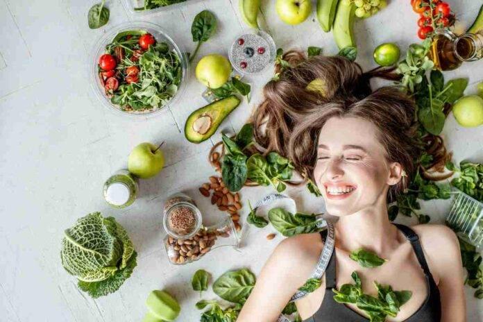 Capelli grassi e alimenti