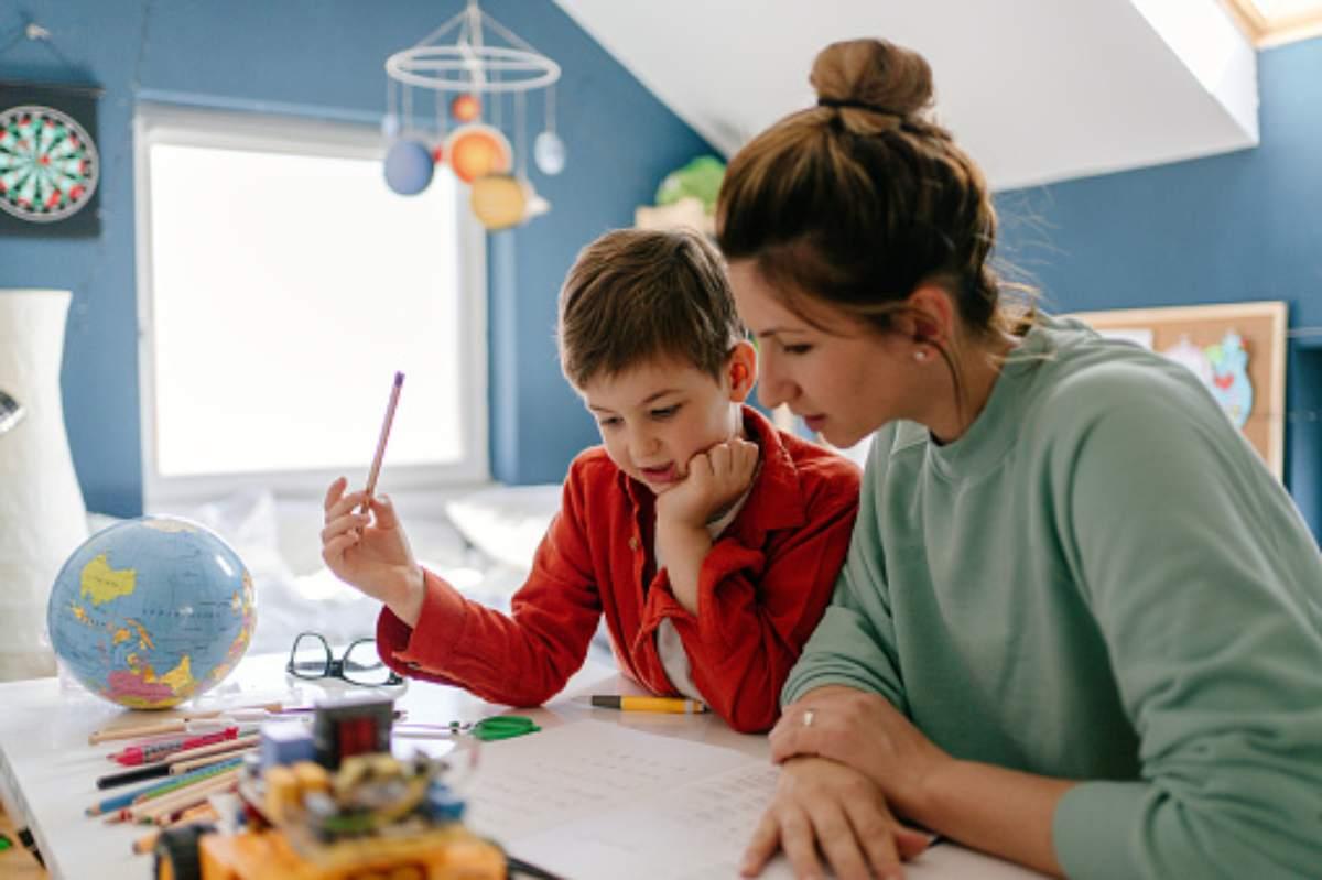 Insegnare l'inglese al proprio figlio