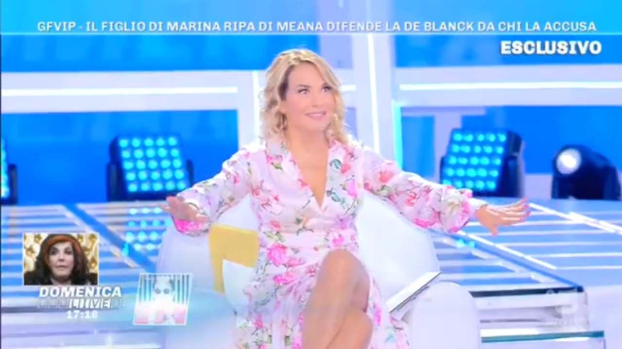 Patrizia De Blanck non si lava