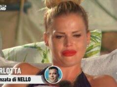 Carlotta piange a Temptation Island