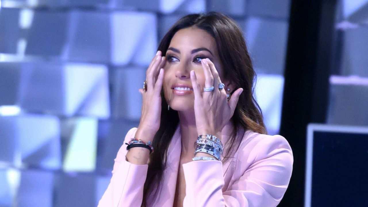 Elisabetta Gregoraci piange a Verissimo
