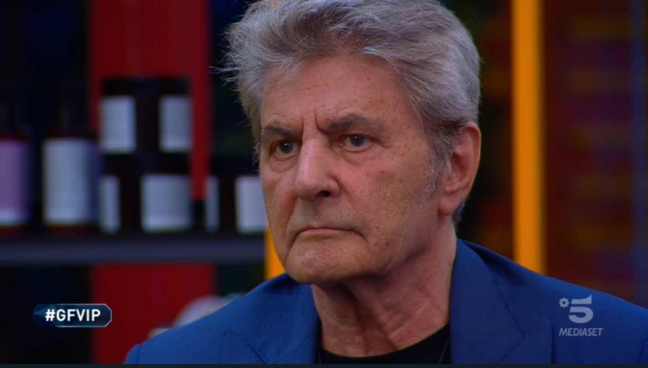 Fausto Leali squalificato dal gf vip
