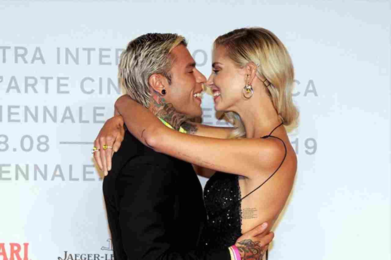 Fedez e Chiara Ferragni a Sanremo 2021