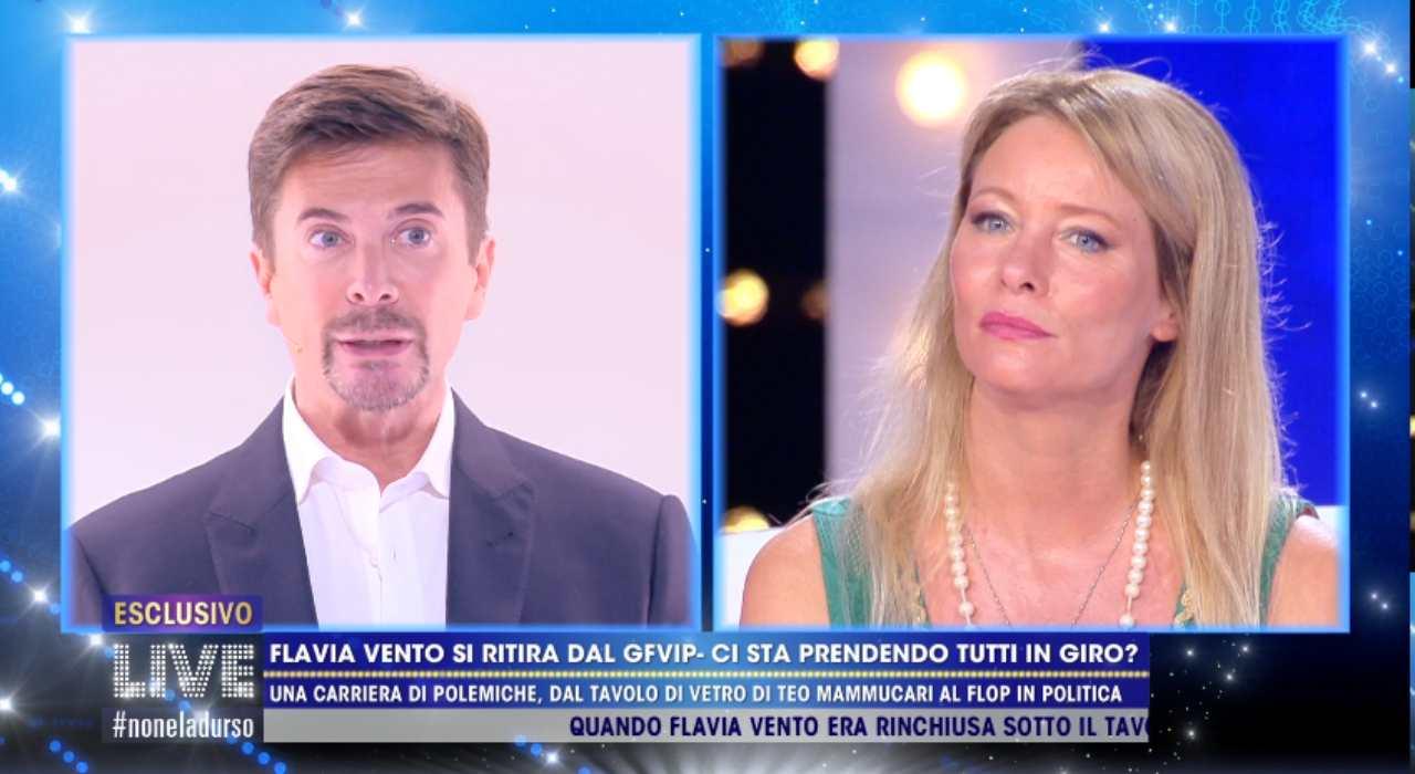 Flavia Vento ha lasciato il GF Vip per la Gregoraci