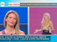 Flavia Vento stroncata a Mattino 5