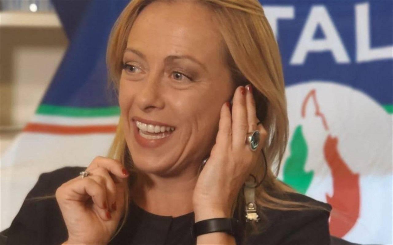 Giorgia Meloni chiara fedez