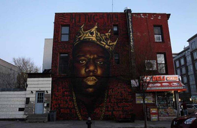 La corona di Notorious B.I.G. messa all'asta, quanto vale oggi (Getty Images)