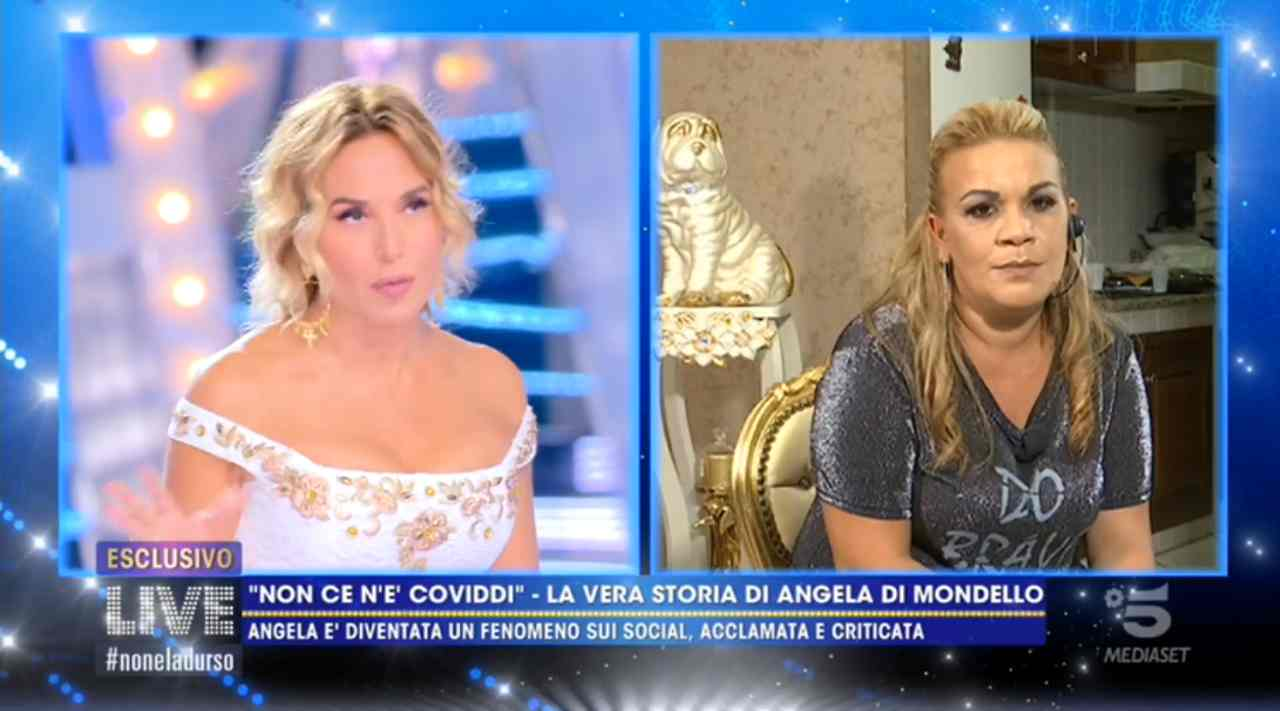 Angela da Mondello da Barbara d'Urso