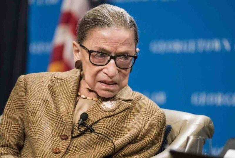 Morta Ruth Bader Ginsburg, la più anziana giudice della Corte Suprema USA (Getty Images)
