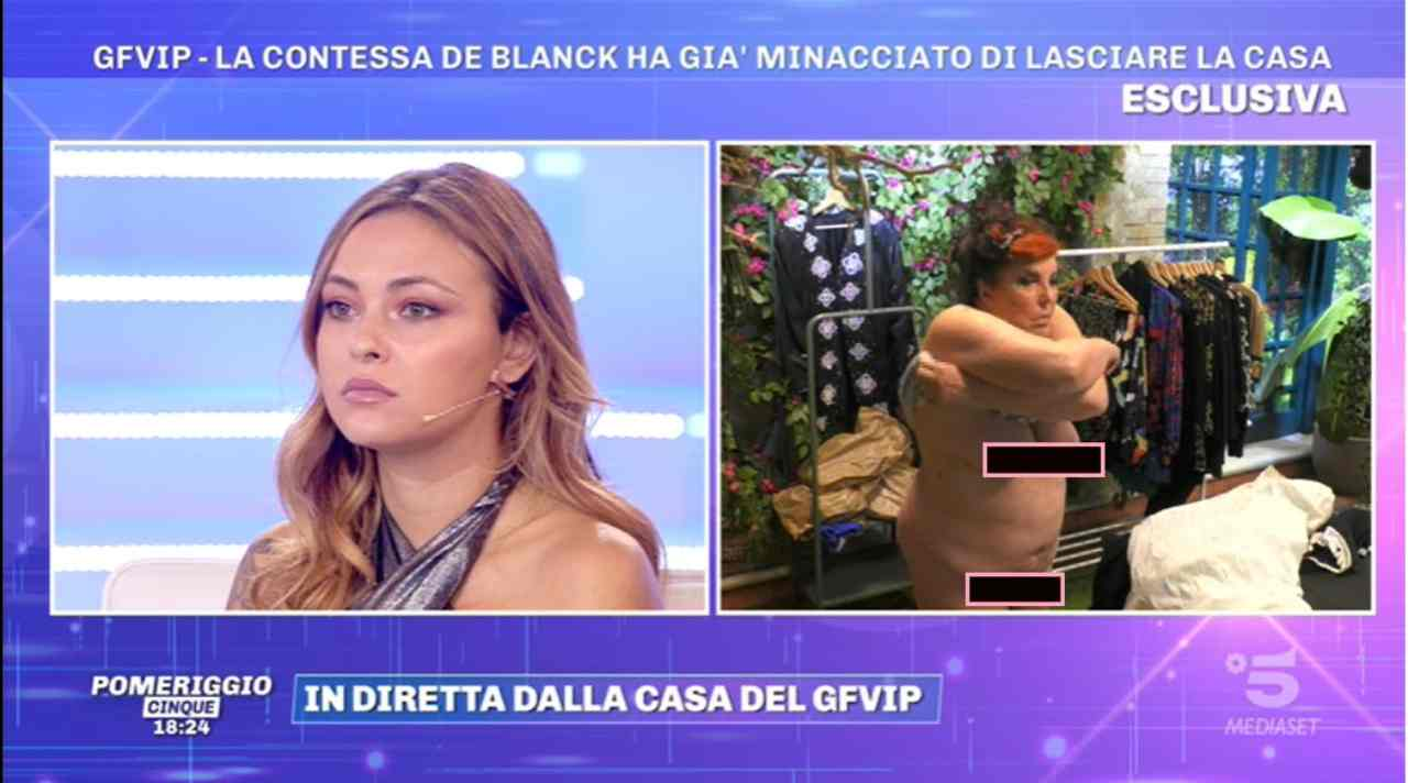 Patrizia De Blanck gaffe a Pomeriggio 5