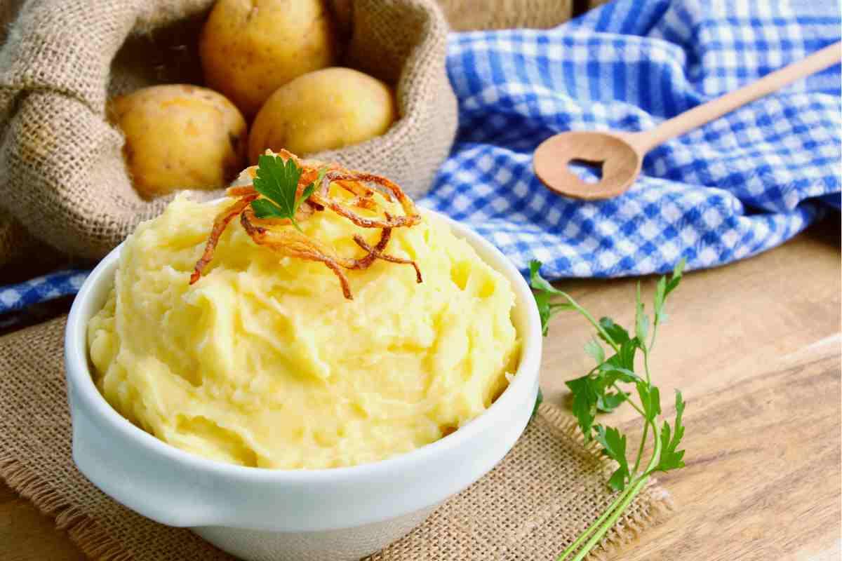 Purè di patate senza schiacciapatate