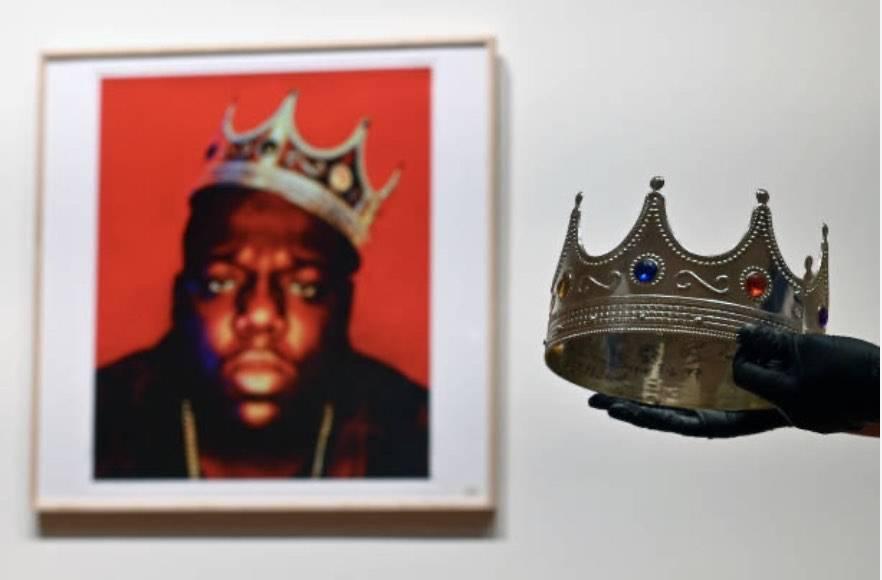 Venduta all'asta la corona di Notorious B.I.G. (Getty Images)
