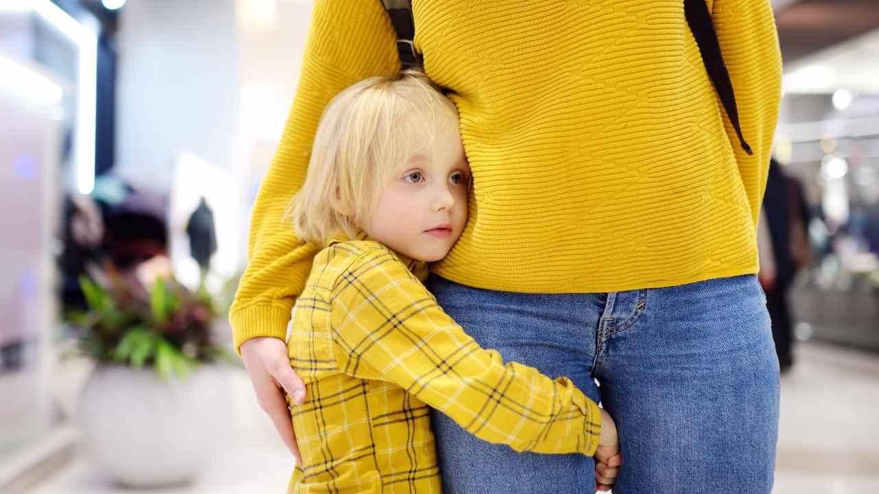 ansia da separazione bambini