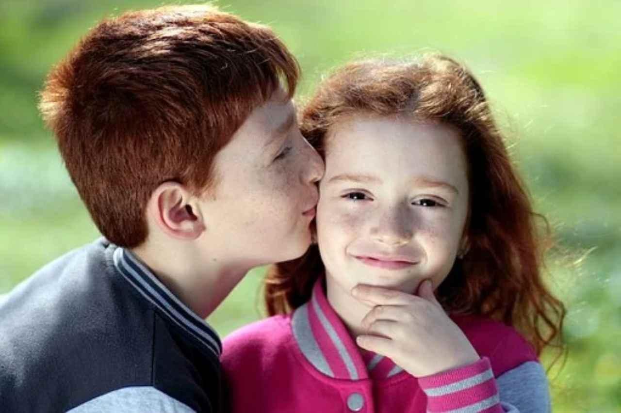 Bambini dai capelli rossi from pizabay