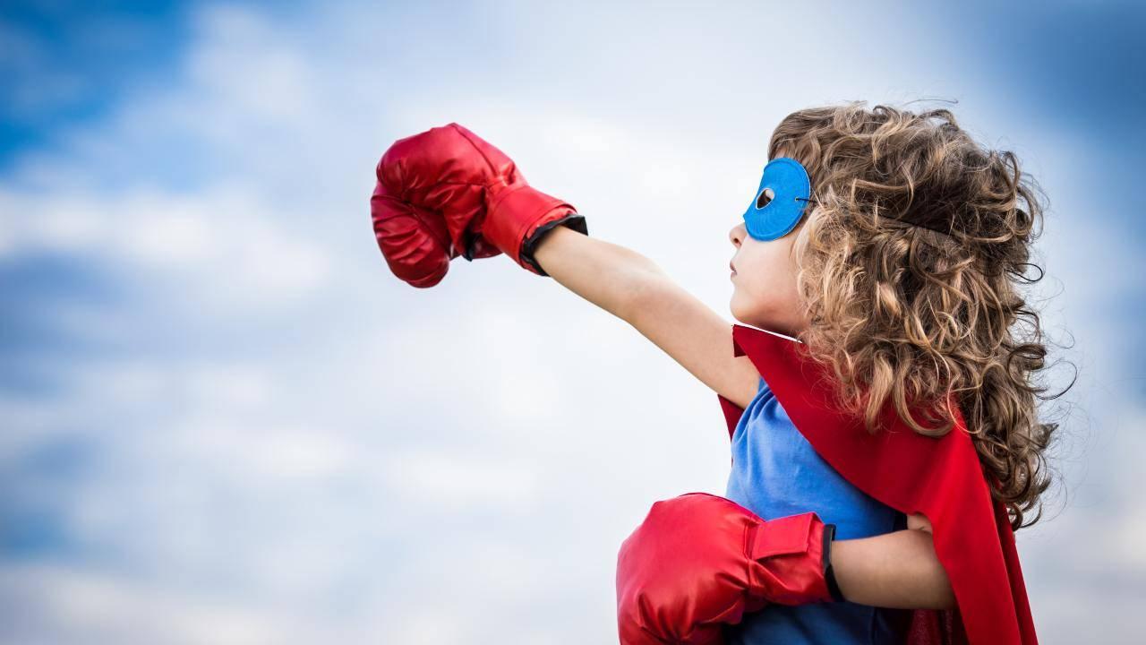come insegnare a bambini a essere coraggiosi