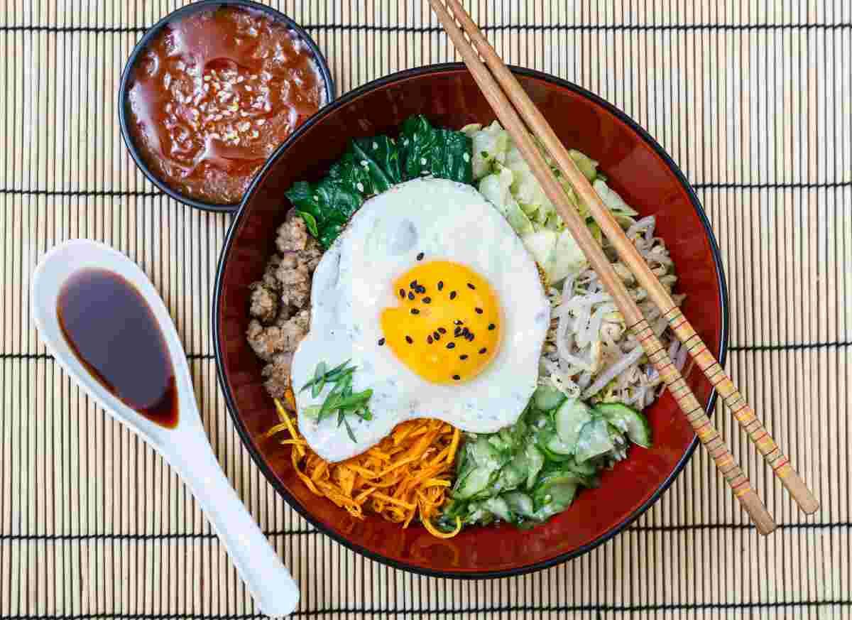 bibimbap piatto unico coreano