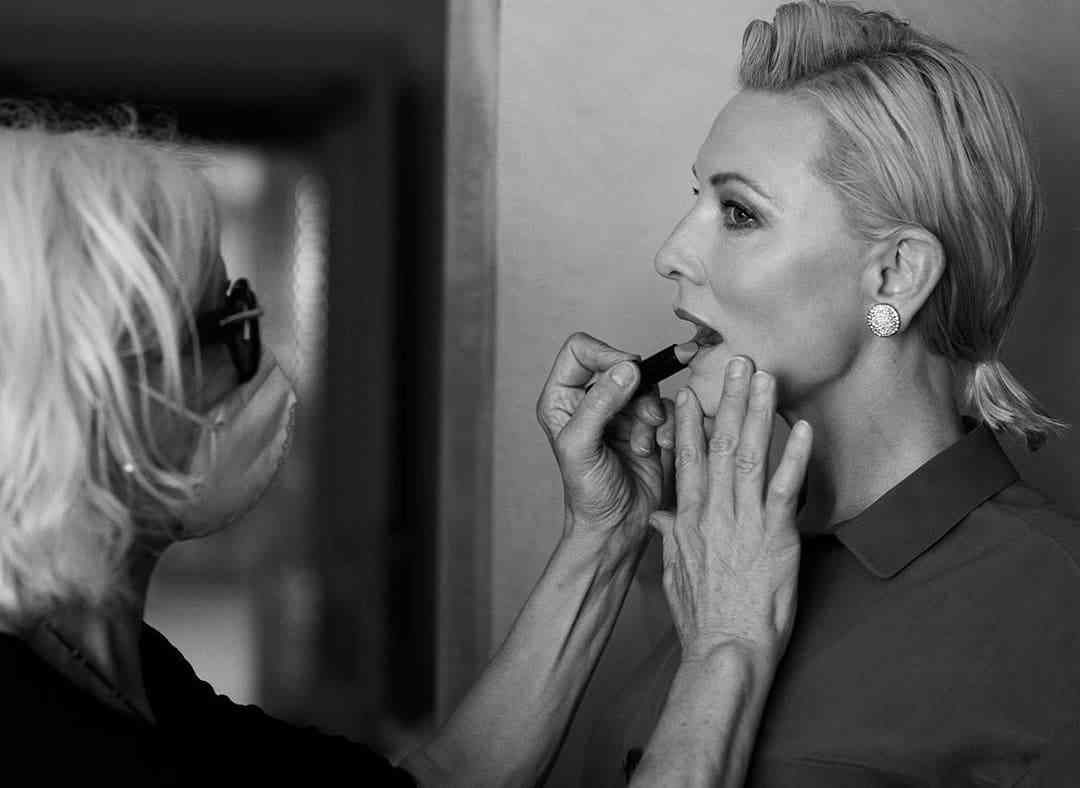Cate Blanchett Venezia 2020 armani beauty