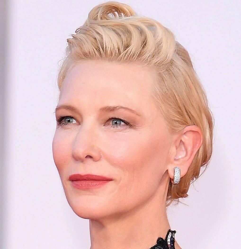 Cate Blanchett makeup venezia 2020
