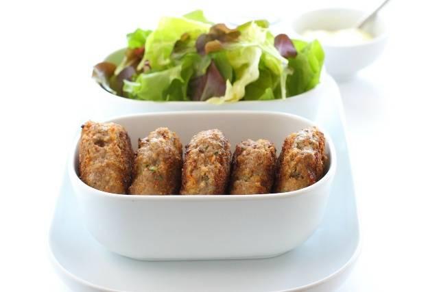 Cotolette di zucchine al forno: pasto leggero e pratico