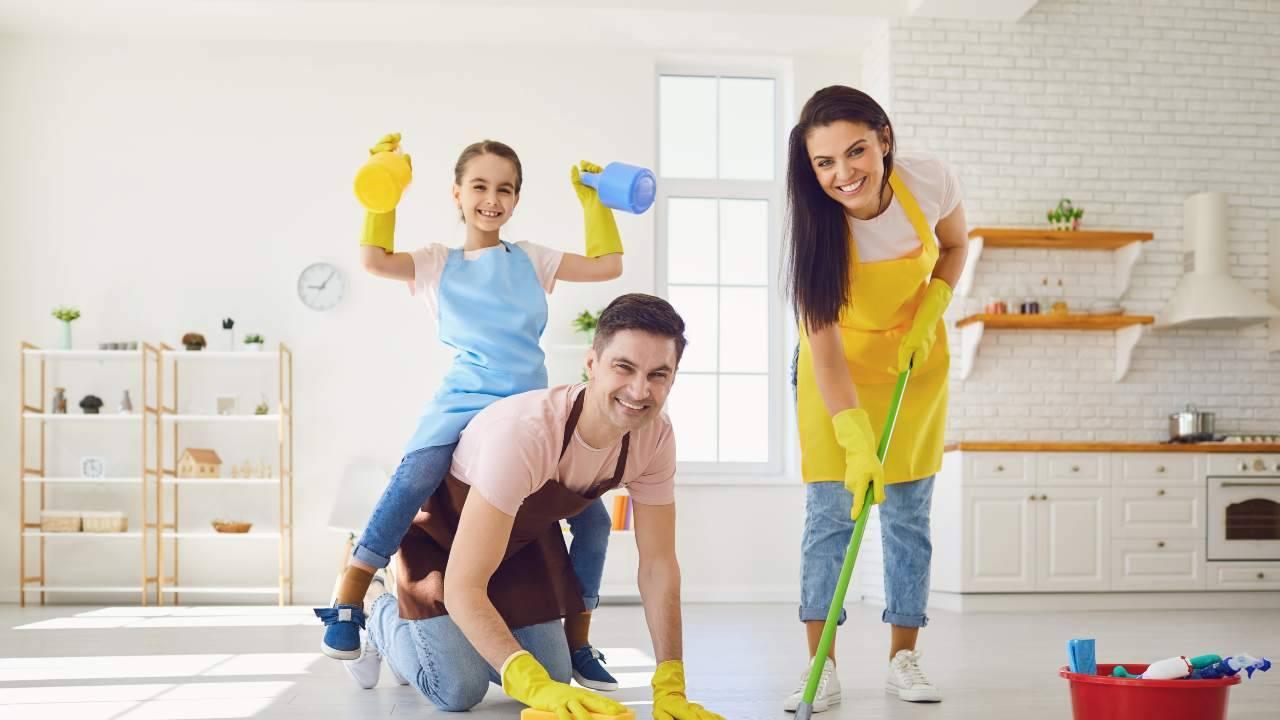 come pulire casa con bambini coronavirus