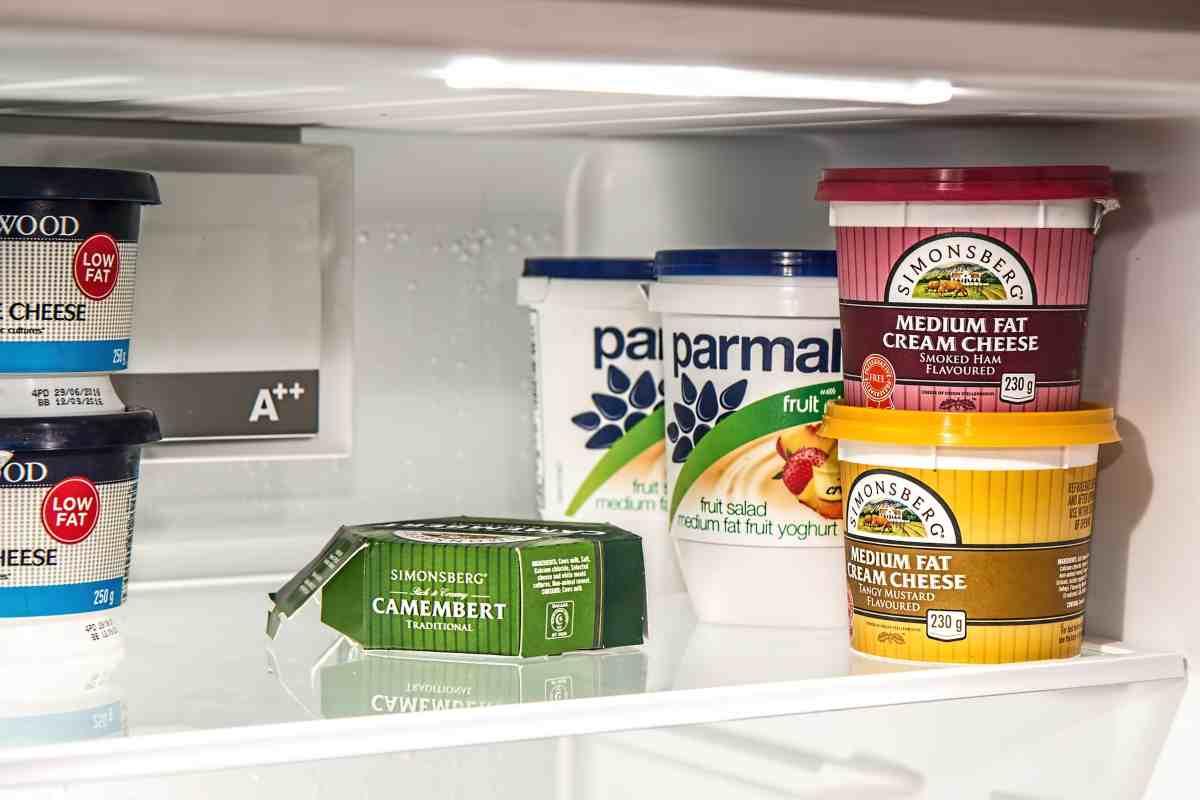 yogurt fuori dal frigorifero