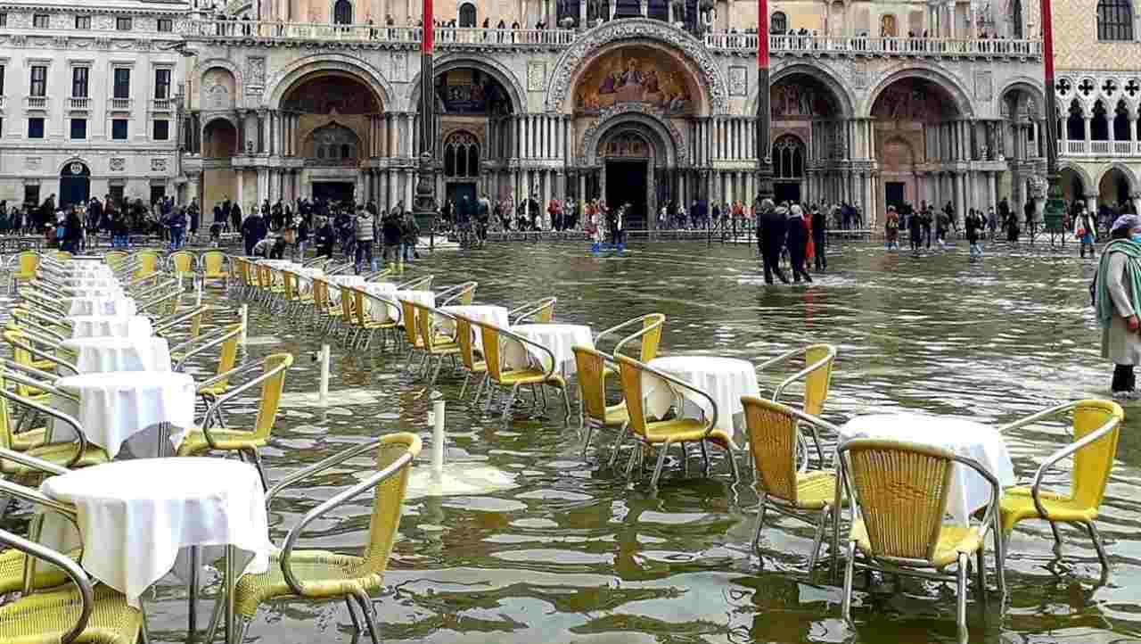 Acqua alta venezia mose