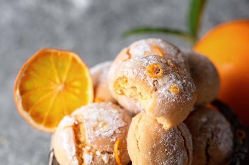 Biscotti all'arancia in padella pronti in 15 minuti, solo 40 calorie!