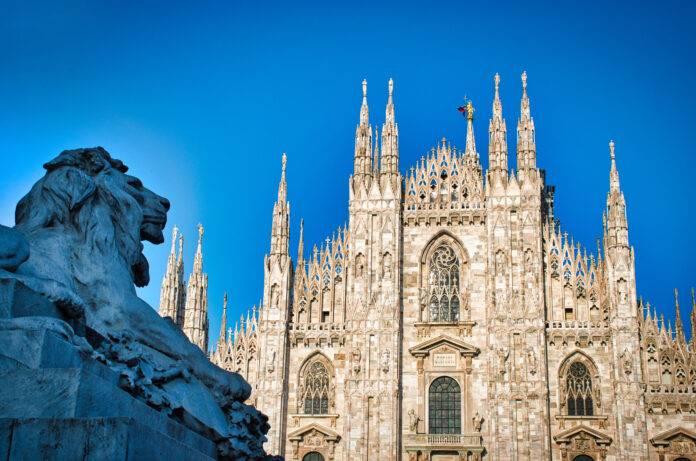 Milano sotto la neve (Getty Images)