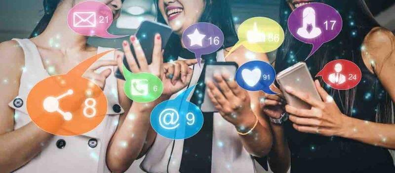 Chattare, social media