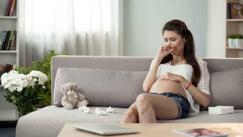 piangere durante la gravidanza