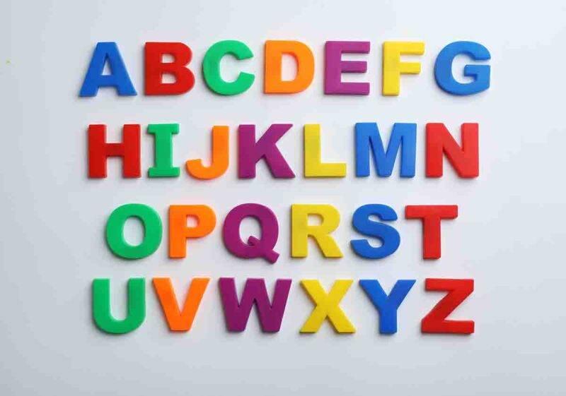 lettere alfabeto