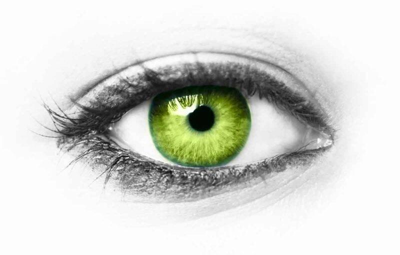 occhi verdi personalità