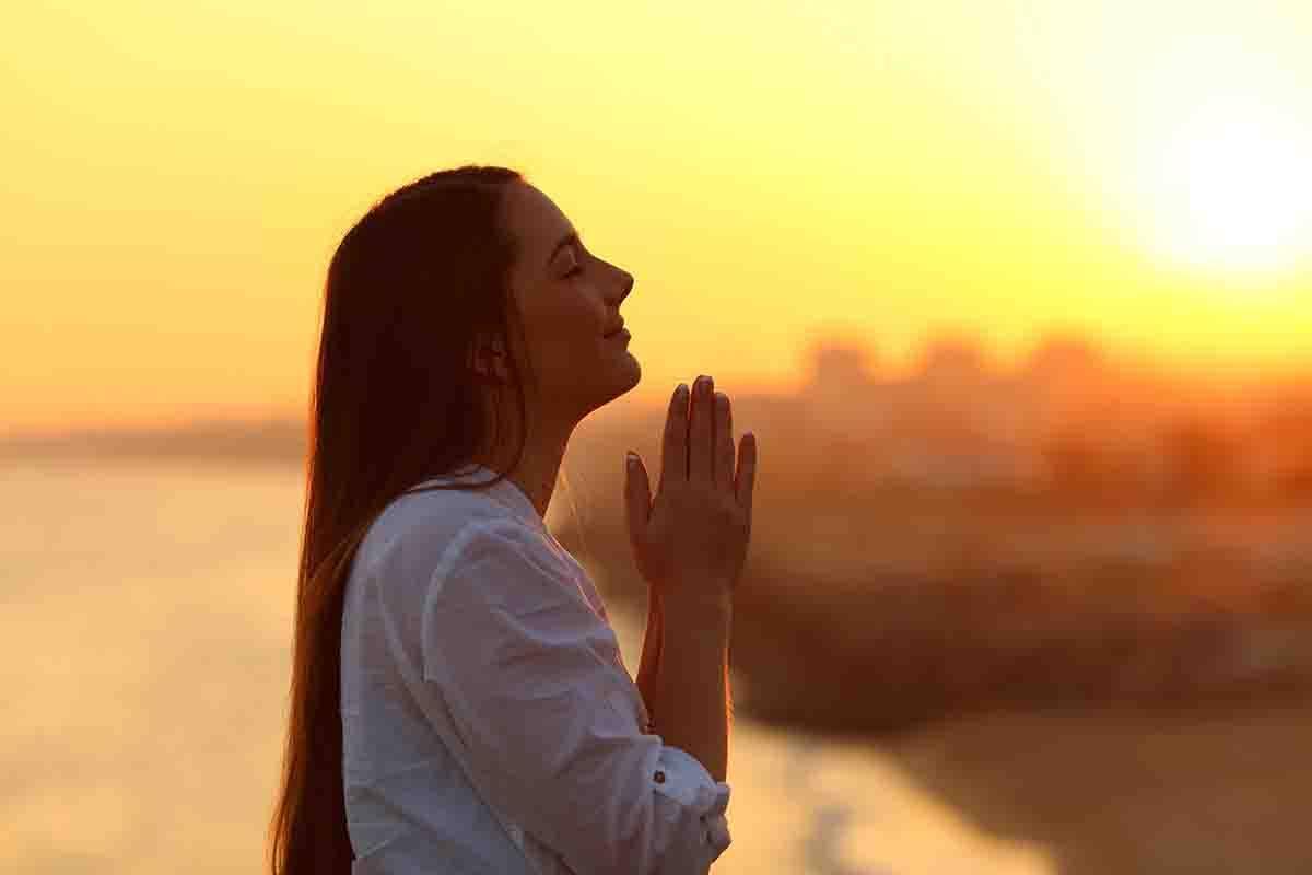 Solo le persone che credono nel potere della preghiera capiscono questo