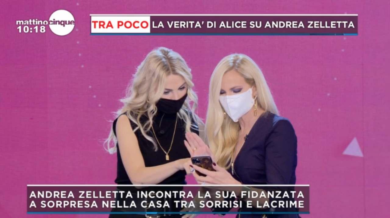 Andrea Zelletta e Alice Fabbrica conversazioni