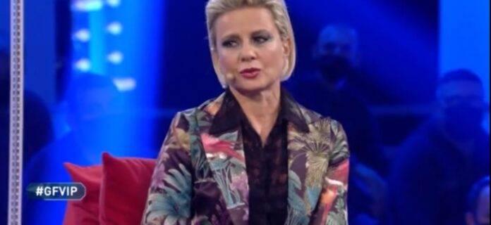 Antonella Elia commossa da Guenda Goria