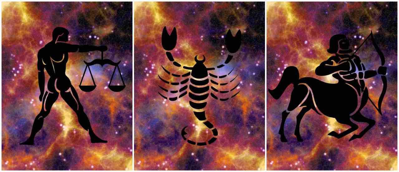 bilancia scorpione sagittario