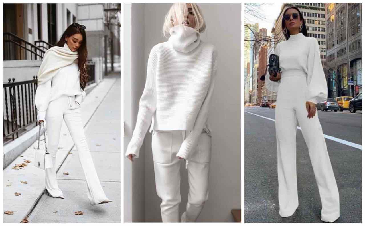pantaloni bianchi abbinamenti