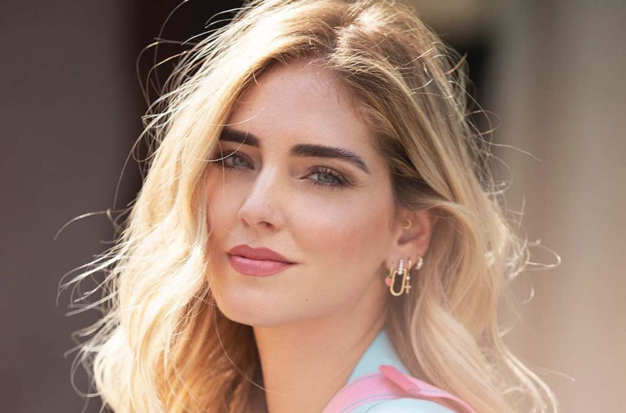 La Ferragni in primo piano