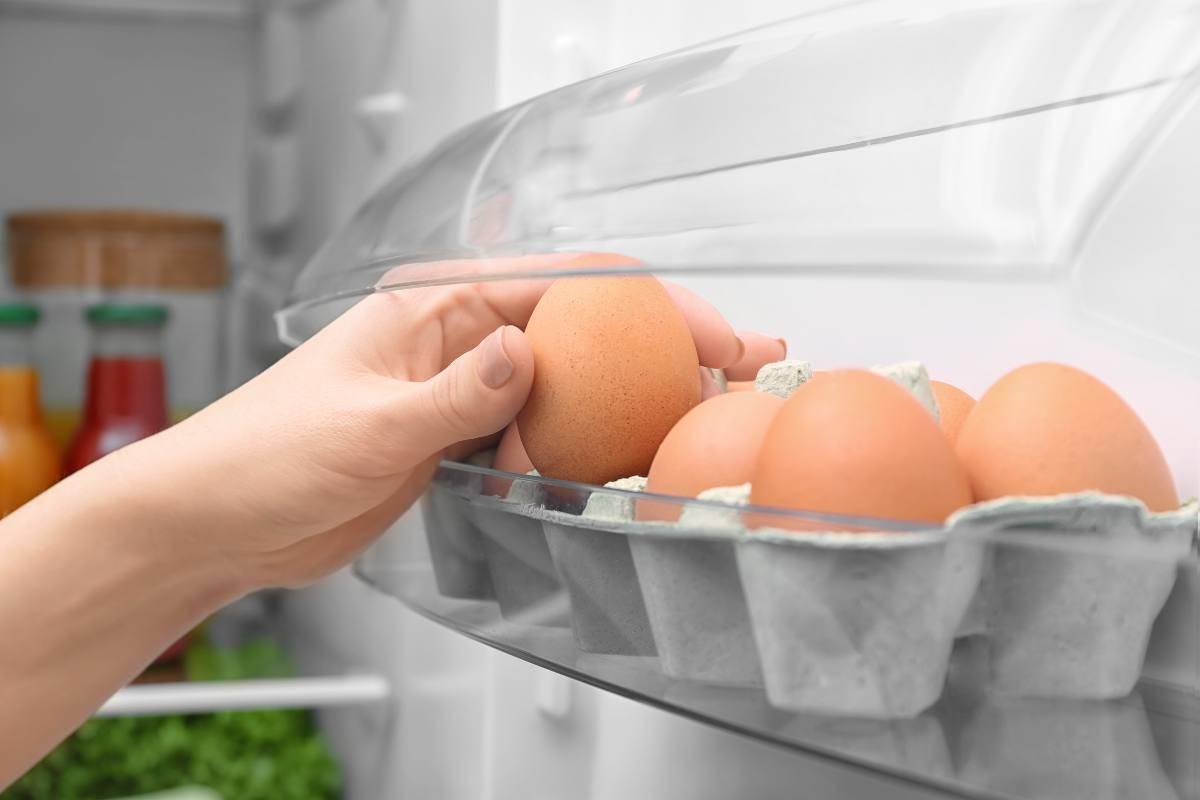Come conservare le uova in frigo