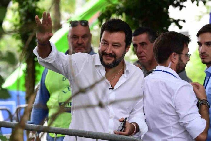Coprifuoco in Lombardia, faccia a faccia Fontana-Salvini (Getty Images)