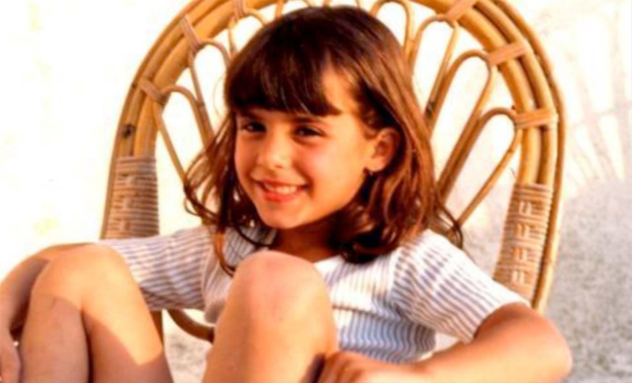Elisabetta Canalis da piccola