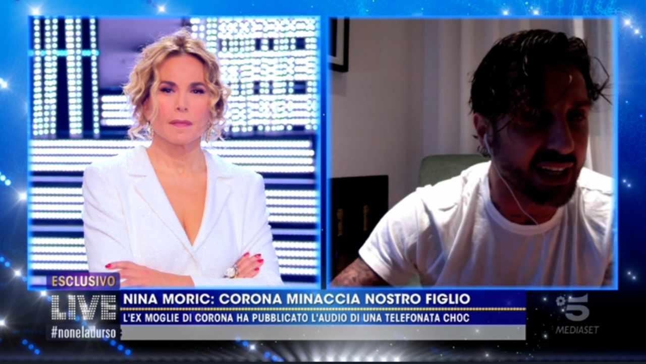 Fabrizio Corona contro Nina Moric