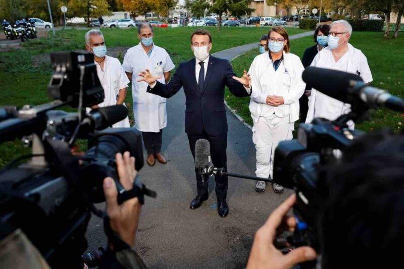 Francia, Macron potrebbe annunciare il secondo lockdown (Getty Images)