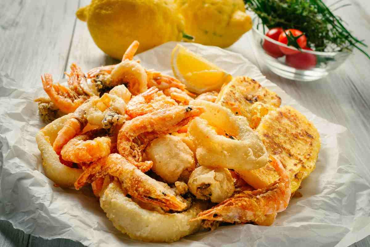 Come preparare la frittura di pesce