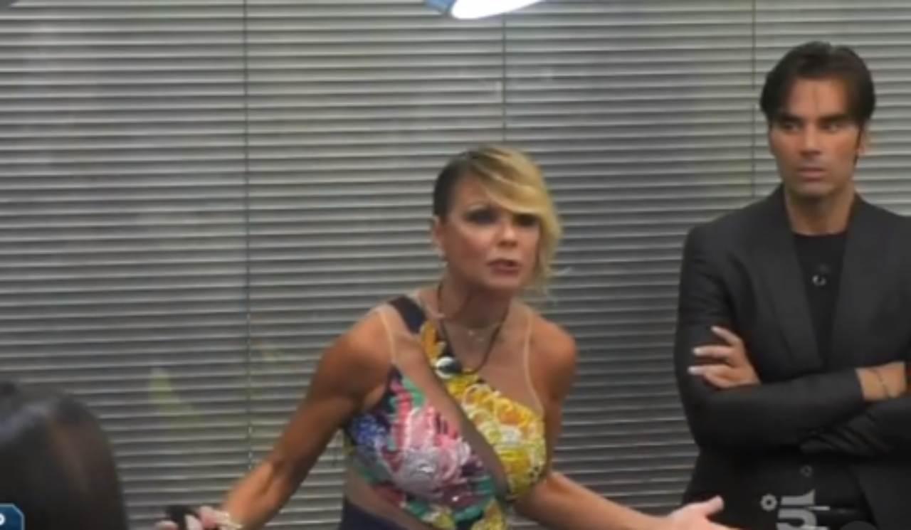 Matilde Brandi litiga con Tommaso Zorzi